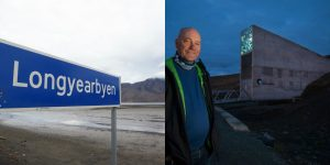 Svalbard Global Seed Vault a Longyearbyen
