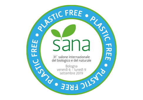 Sana 2019 è plastic free